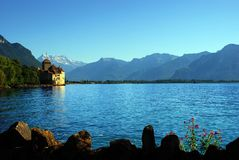 Chillon Castle Stock Images