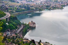 Chillon castle Royalty Free Stock Images