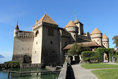 Chillon Castle. Chateau de Chillon. Royalty Free Stock Photos