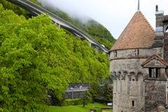 The Chillon Castle (Chateau de Chillon), Switzerland Stock Image