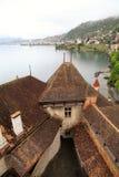 The Chillon Castle (Chateau de Chillon), Switzerland Royalty Free Stock Photos