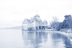 Chillon castle, Geneva (Lac Leman) Switzerland Royalty Free Stock Photo