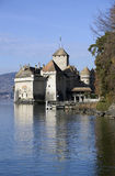 Chillon castle on Lake Geneva Royalty Free Stock Photo