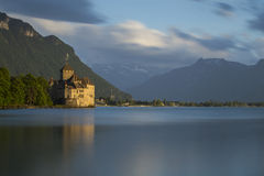 Chillon Castle Stock Photo