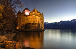 Chillon castle, Switzerland Royalty Free Stock Photos