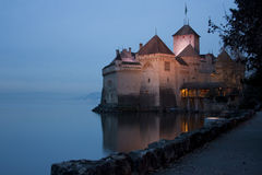 Chillon kasztel Fotografia Royalty Free