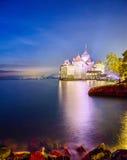 chillon montreux Швейцария замока Стоковое Изображение