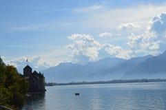 Chillon Schloss Lizenzfreies Stockbild