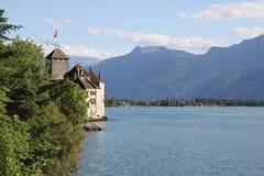 Chillon Schloss Stockfoto