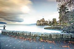 Chillon Schloss Lizenzfreie Stockfotografie