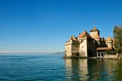 Chillon slott Royaltyfri Bild
