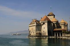 chillon zamku Zdjęcia Royalty Free