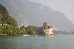 chillon zamku de Montreux Obrazy Royalty Free