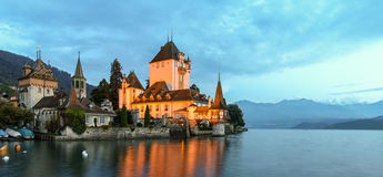 ChillonCastle Royalty Free Stock Photos
