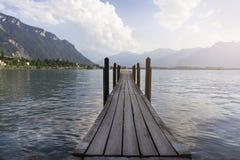 Chillonkasteel. Zwitserland Royalty-vrije Stock Foto