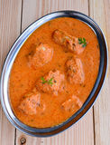 Chilly chicken curry boneless Stock Image