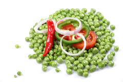 Chilly peas Stock Photos