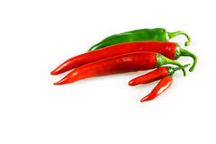 Chilly pepper Royalty Free Stock Photos