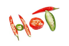 Chilly pepper Royalty Free Stock Image