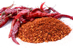 Chilly powder Royalty Free Stock Image
