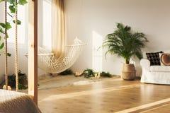 Chillzone в просторной квартире стоковое фото rf