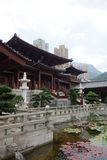 ChiLn nunnekloster, Hong Kong Arkivfoto