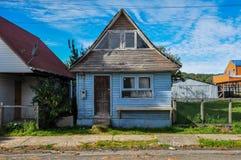 Chiloés ande och unikhet, Chiloé ö, Chile arkivbilder