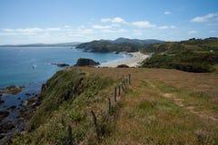 Chiloé Coastline Royalty Free Stock Photos