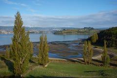 Chiloe农村风景  库存图片