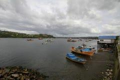 Chiloe Чили стоковое изображение