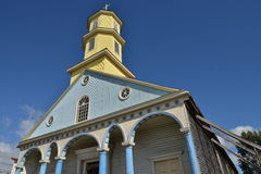 Chiloe church Royalty Free Stock Images