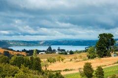 Chiloe-Insel lizenzfreies stockfoto