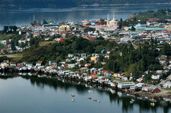 Chiloe Insel, Chile Südamerika Lizenzfreie Stockfotografie
