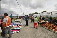 Chiloe o Chile - Feria Artesenal foto de stock royalty free