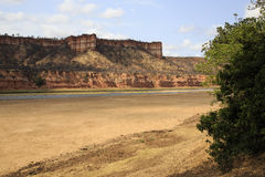 Chilojo Cliffs. In Gonarezhou National Park - Zimbabwe royalty free stock photos