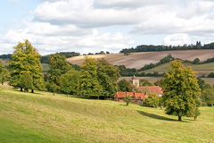 Chiltern hills in England Stock Photo