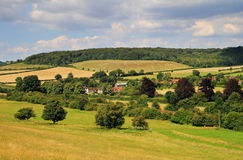 The Chiltern Hills in Rural England Stock Photo
