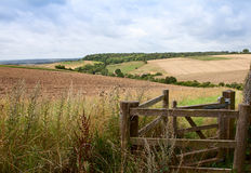 Chiltern Hills. View across the Chiltern Hills near Little Marlow in Buckinghamshire England Stock Images