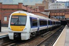 Chiltern Railways dmu at Birmingham Moor Street Royalty Free Stock Photography