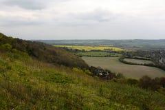 Chilterns landscape. Royalty Free Stock Photo