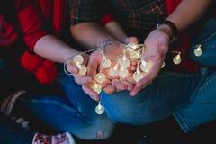 Chimères et magie dans des vos mains Images stock