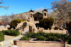 Chimayo church Stock Image
