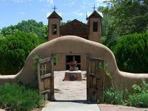 chimayo kyrkliga de santaurio Arkivfoton