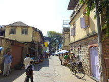 Chimbai村庄Bandra孟买印度 库存图片