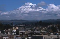 chimborazo厄瓜多尔riobamba 免版税库存图片