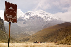 Chimborazo Royalty Free Stock Image