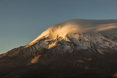 Free Chimborazo At Sunset Royalty Free Stock Images - 69958609