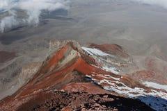 Chimborazo climbing Stock Images