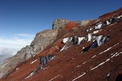 Chimborazo climbing Stock Image