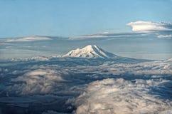 Chimborazo from cotopaxi summit Stock Image